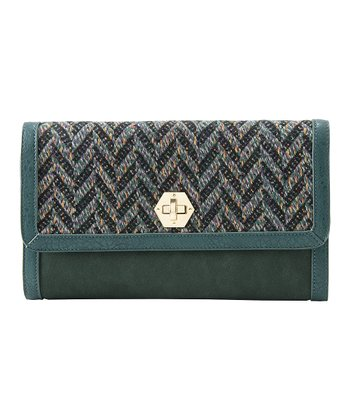 Emerald Dana Clutch