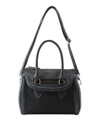 Black Ella Satchel