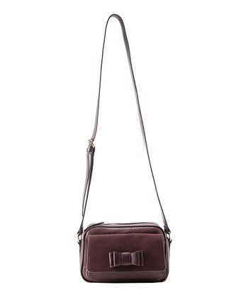 Burgundy Kelly Crossbody Bag