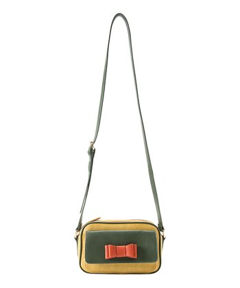 Yellow Kelly Crossbody Bag