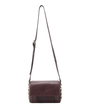 Burgundy Joan Crossbody Bag