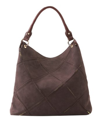 Burgundy Veronica Hobo