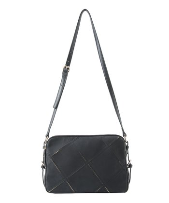 Black Veronica Crossbody Bag