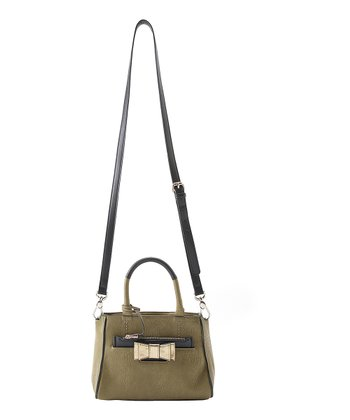 Olive Kelly Mini Crossbody Satchel