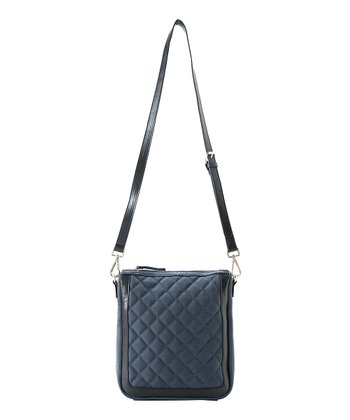 Midnight Colette Zipper Crossbody Bag