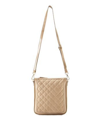 Nude Colette Zipper Crossbody Bag