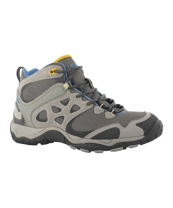 Cool Gray & Blue Alchemy Lite Mid Wp Boot - Women