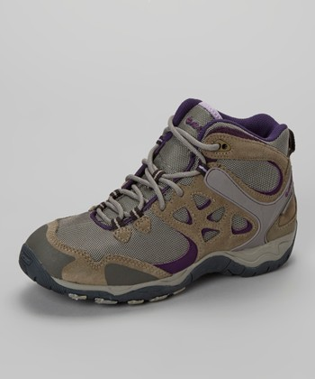 Taupe & Warm Gray Alchemy Lite Mid Wp Boot  - Women