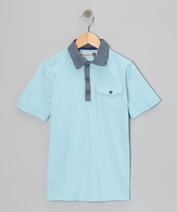 Crystal Blue Randy Polo - Boys