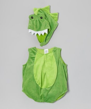 Green Dinosaur Bubble Dress-Up Set - Infant