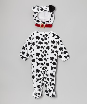 White & Black Dalmatian Dress-Up Set - Infant