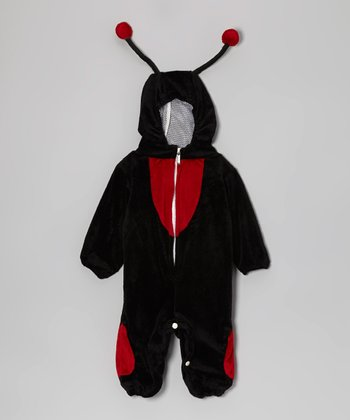 Red & Black Ladybug Dress-Up Outfit - Infant