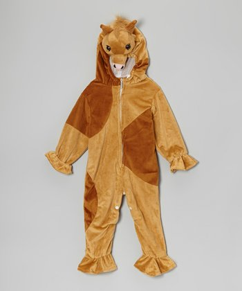 Tan Horse Dress-Up Outfit - Infant & Toddler