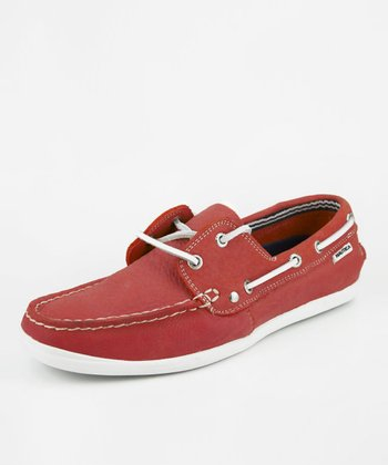 Red Hyannis Loafer