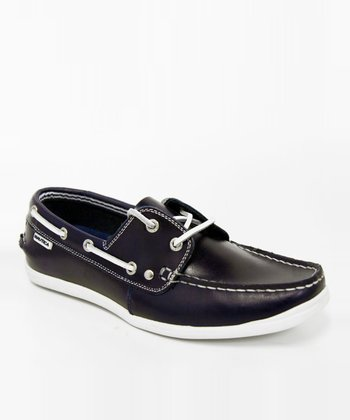 Navy Hyannis Loafer