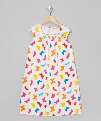 Bright Butterfly Dress - Toddler & Girls