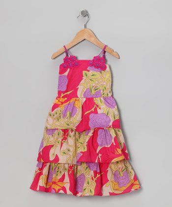 Pink Frances Dress - Toddler & Girls