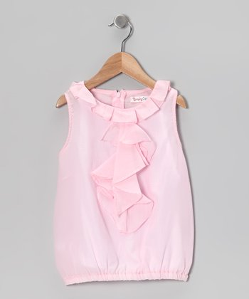 Pink Nisha Top - Infant, Toddler & Girls