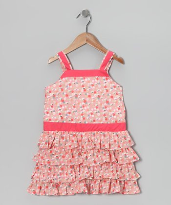 Pink Paloma Dress - Infant, Toddler & Girls