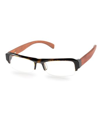 Tortoise Crystal & Cherry Flicker Eyeglasses
