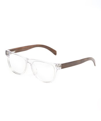 Crystal & Walnut Arden Eyeglasses