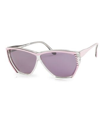 Pink & Black Madonna Sunglasses