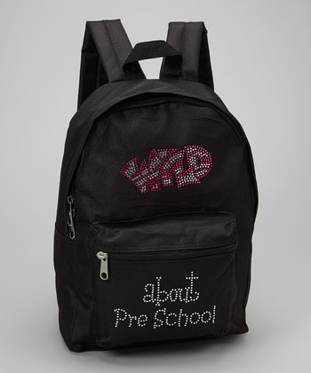 Black 'Wild About Preschool' Backpack - Kids