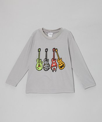 Gray Monster Guitars Tee - Toddler & Boys