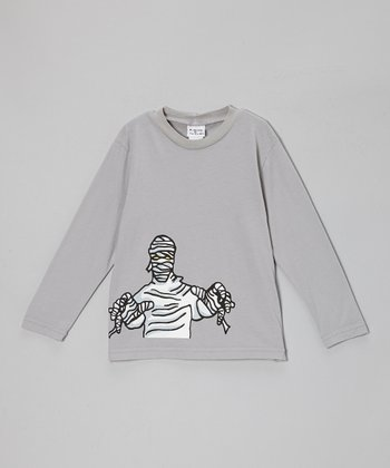Gray Glow Mummy Tee - Infant, Toddler & Boys
