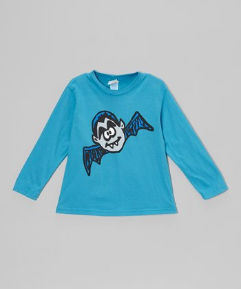 Turquoise Bat Boy Tee - Infant, Toddler & Boys