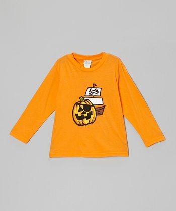 Orange Pumpkin Ship Tee - Infant, Toddler & Boys