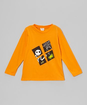 Orange Look Out Tee - Infant, Toddler & Boys