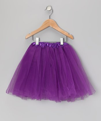 Purple Tutu - Toddler & Girls