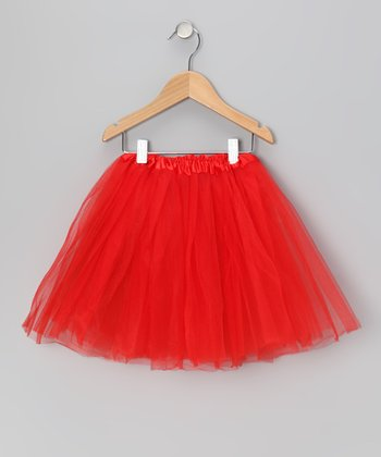 Red Tutu - Toddler & Girls