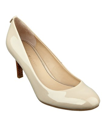 Nude Leather Kadesa Pump