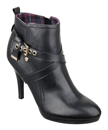 Black Rainfall Bootie