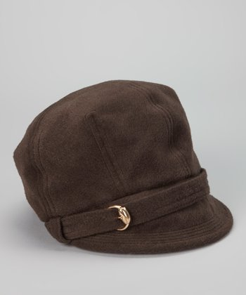 Chocolate Buckle Cadet Cap