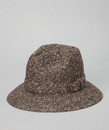 Brown Buckle Bucket Hat
