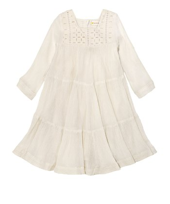 Off-White Gypsy Dress - Toddler & Girls