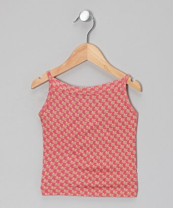 Little Handprint Pink Dhania Camisole - Toddler & Girls