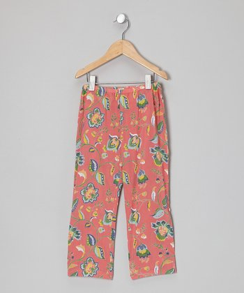 Pink Java Convertible Pants - Infant, Toddler & Girls