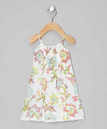 White Lily Dress - Infant, Toddler & Girls