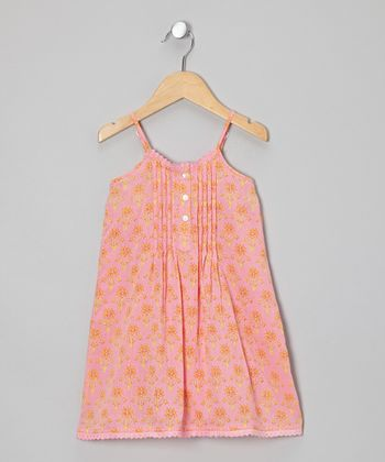 Pink Sariska Dress - Infant, Toddler & Girls