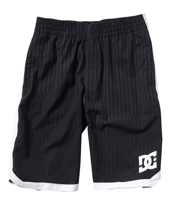 Black Baller Walk Shorts - Boys
