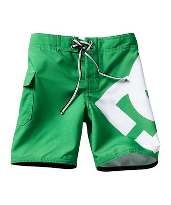 Kelly Green Lanai Boardshorts - Toddler & Boys