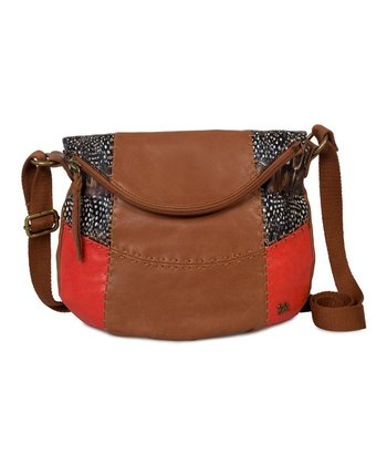 Feather Patch Deena Flap Crossbody Bag