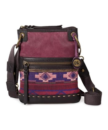 Bordeaux Tribal Pax Crossbody Bag