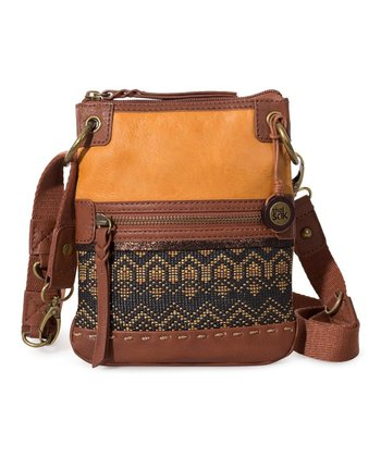 Ochre Tribal Pax Crossbody Bag