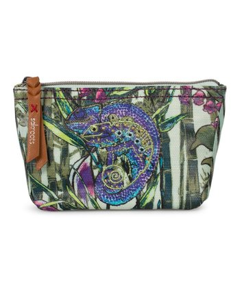 Mint Bambu Artist Circle Cosmetic Case