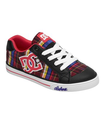 Black Plaid Chelsea TX Sneaker